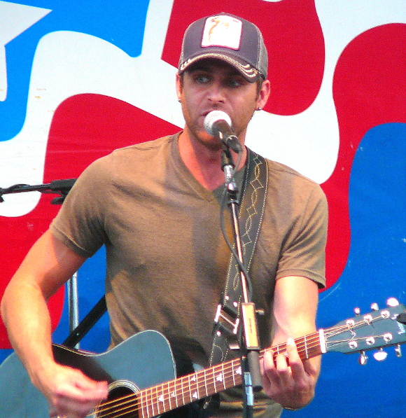 Canaan Smith opened for Lauren Alaina at her Thursday show at the York Fair. (Mark Franklin Photo0