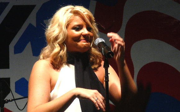 Lauren Alaina performs during her Thursday night show at the York Fair. (Mark Franklin Photo)