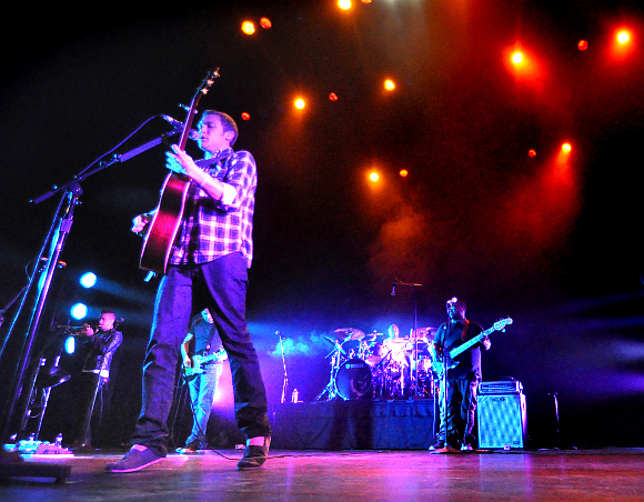 Phillip Phillips performs during his sold-out show at the Pullo Center in York Thursday night. (Bil Bowden Photo / The York Dispatch)