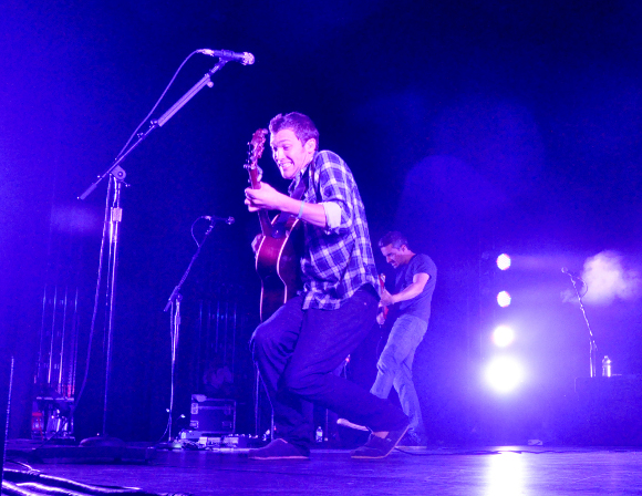Phillip Phillips performs during his concert at the Pullo Center in York Thursday night. (Bil Bowden Photo/The York Dispatch)