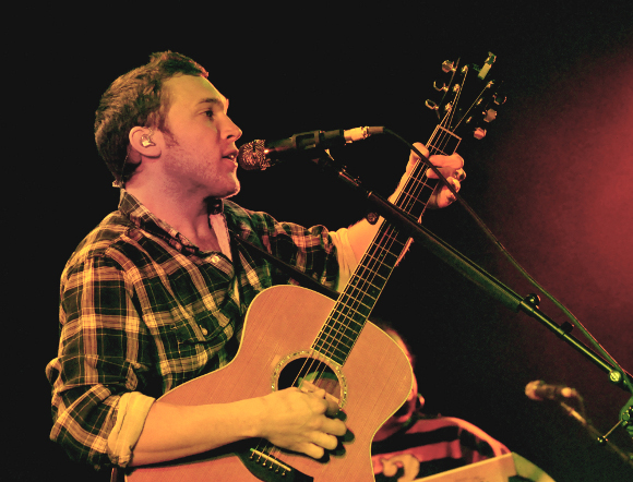Phillip Phillips performs during his sold-out show at the Pullo Center in York on Thursday. (Bil Bowden Photo/The York Dispatch)