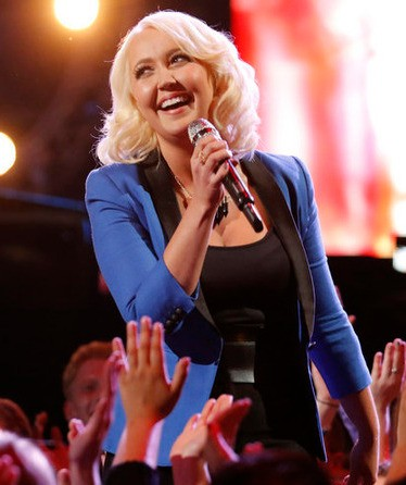 Meghan Linsey, formerly of the hit country duo Steel Magnolia, showed up for Season 8 looking to jump start a solo career and finished second. (NBC Photo)
