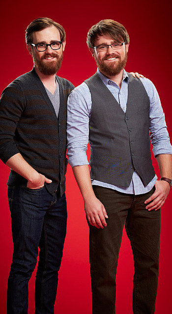 The Brothers Walker landed a spot on Team Usher for Season 6 of The Voice. (NBC Photo)